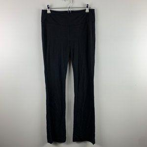 CAbi #966R Ponte Knit Black Trousers Zip Back Sz 6